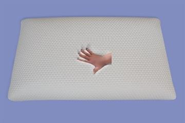 Orthopädisches Gel Gelschaum Kopfkissen Nackenkissen Nackenstützkissen 80 x 40 x 18 cm Seitenschläfer Kissen softes weiches Schlafkissen - 5