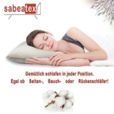 Orthopädisches Nackenkissen Sabeatex