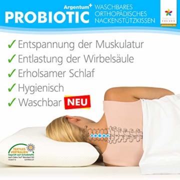 Probiotic Argentum orthopädisches Nackenstützkissen
